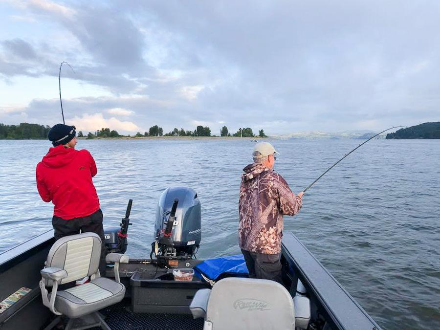 Columbia River Sturgeon Fishing Guide • Hazen's Guide Service LLC